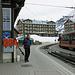 Ankunft auf der kleinen Scheidegg