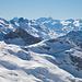 Zoom zu den den Berner Alpen