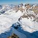 Die Bannalper Gipfel und Tiefblick auf's Rot Grätli