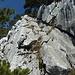 schöne Kletterei hinauf zur Stockflue