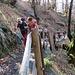 .proseguiamo lungo l'ingegnosa e comoda via che conduce al ponte