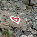 Herz-licher Empfang auf dem Weg zur Chamanna d'Es-cha