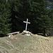 Das Gipfelkreuz vom Hebammsberg stand nicht schon immer hier / la croce dell`Hebammsberg non si è sempre trovata qui