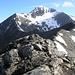 Blick vom Piz Nair 3018m auf den Muttler 3294m