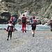 Gente di montagna raggiunge il mare...