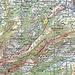 Rot eingezeichnet, meine Route<br />Blau eingezeichnet Alternative dazu<br />Grüne Route wäre der richtige Weg, den ich aber verfehlte <br />Gelb eingezeichnet die Besenbeiz Laufenweid