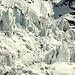 Der untere Gletscherbruch: definitiv unbefahrbar