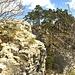 Blick vom nördlichen auf den südlichen Gipfelkopf der Portiflue