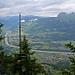 In der Nähe vom Chrüppel, Blick ins Rheintal