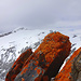 Auf dem Tüfels Chilchli mit Blick auf den Felsberger Calanda