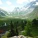 Vista sulla Piana di Combal... fino al Col de La Seigne
