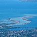Zoom zur Rheinmündung
