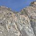 Der untere Teil des Hüttenwegs, bzw. Klettersteigs