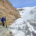 Übergang zum Gletscher problemlos