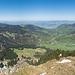 Panorama vom Westgipfel