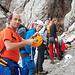 Erste Steilstufe beim Zustieg