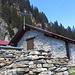 Rifugio all'Alpe Martum.