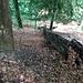 Blick zurück: Das unterste Teilstück der Rippe, auf der der Grenzpfad verläuft.