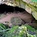 Das Hooliloch am Eingang der Schlucht.