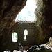 In der grossen Grotte der Ruine Rappenstein