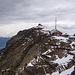 Bergstation der Männlichen-Bahn und im Hintergrund der eigentliche Gipfel des Männlichen