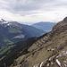 Aussicht von Berggasthaus Männlichen in das Lütschental