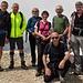 Foto di gruppo sulla Cima Palon