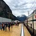 Zwischenhalt in Rynächt am Nordportal des Gotthard-Basistunnels