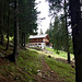 Idyllisch gelegen: Die Capanna Pian d'Alpe