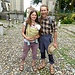 Kristina e Francesco alla Prima Cappella. Notate la differenza con la foto di un anno prima: http://www.hikr.org/gallery/photo1740076.html?post_id=93949#1
