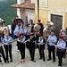 La banda nella piazzetta del monastero