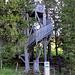 Der Bärenturm im Langis: Man hat vor allem eine tolle Aussicht in die oberen Äste der Tannen.