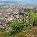 schöner Tiefblick auf Bolzano