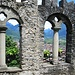 Ricostruzione di due bifore del castello di Mattarella.