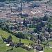 Tiefblick auf Bolzano