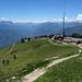 Die Bergstation der Seilbahn