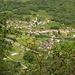 1. Tag: im Aufstieg nach Provesc werden Cama und Al Pont kleiner und kleiner und der Vekehrslärm der A13 schwächer und schwächer