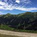 Blick auf die Ausläufer der Hochwangkette