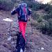 Wanderweg im oberen Teil des Pontentals