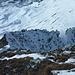 Rückblick zu unserem Aufstiegsweg (Westgrat) vom Pfaffeneckgipfel