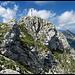 Ein letzter Blick zum Gipfelkreuz ...