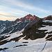 Das Hangedgletscherhorn in der Morgensonne