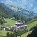 Blick auf den Wintersportort Siviez, ein Schandfleck in dieser schönen Natur
