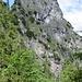 die Grünstein-Südwand wirkt hitzetechnisch wie ein Parabolspiegel
