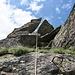Abstieg über den leichten Klettersteig