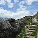 Abstieg vom Panoramaplatz nach Heitbodme