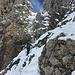 Nachfolgende Berggänger im Aufstieg zum Chaisertor