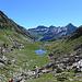 Rückblick zum Seelein 2206 m