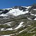Gletscherrest unter dem Kastelhorn/Pizzo Cavergno