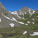 obere Ebene (ca. 2380 m), dahinter das Rotentalhorn
